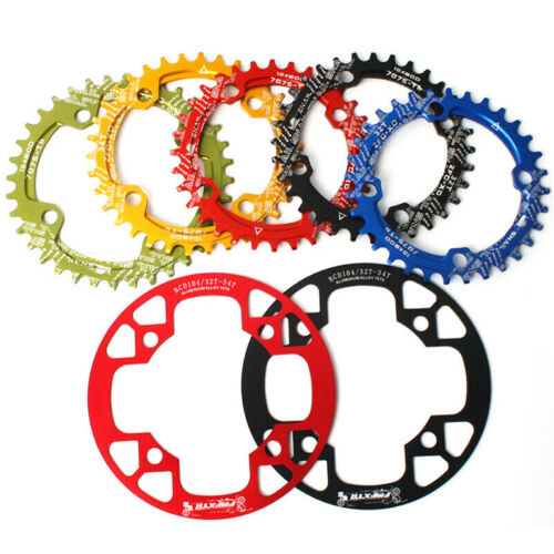 Narrow Wide Single Chainring Guard 32-42t 104bcd MTB Bike Fit Shimano Crankset