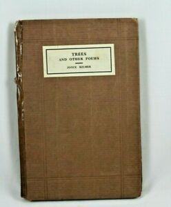 Trees-and-Other-Poems-by-Joyce-Kilmer-1914-1st-Edition-First-Printing-Doran-HC