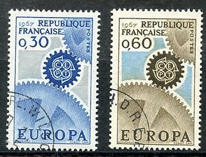 STAMP-TIMBRE-FRANCE-OBLITERE-N-1521-1522-EUROPA