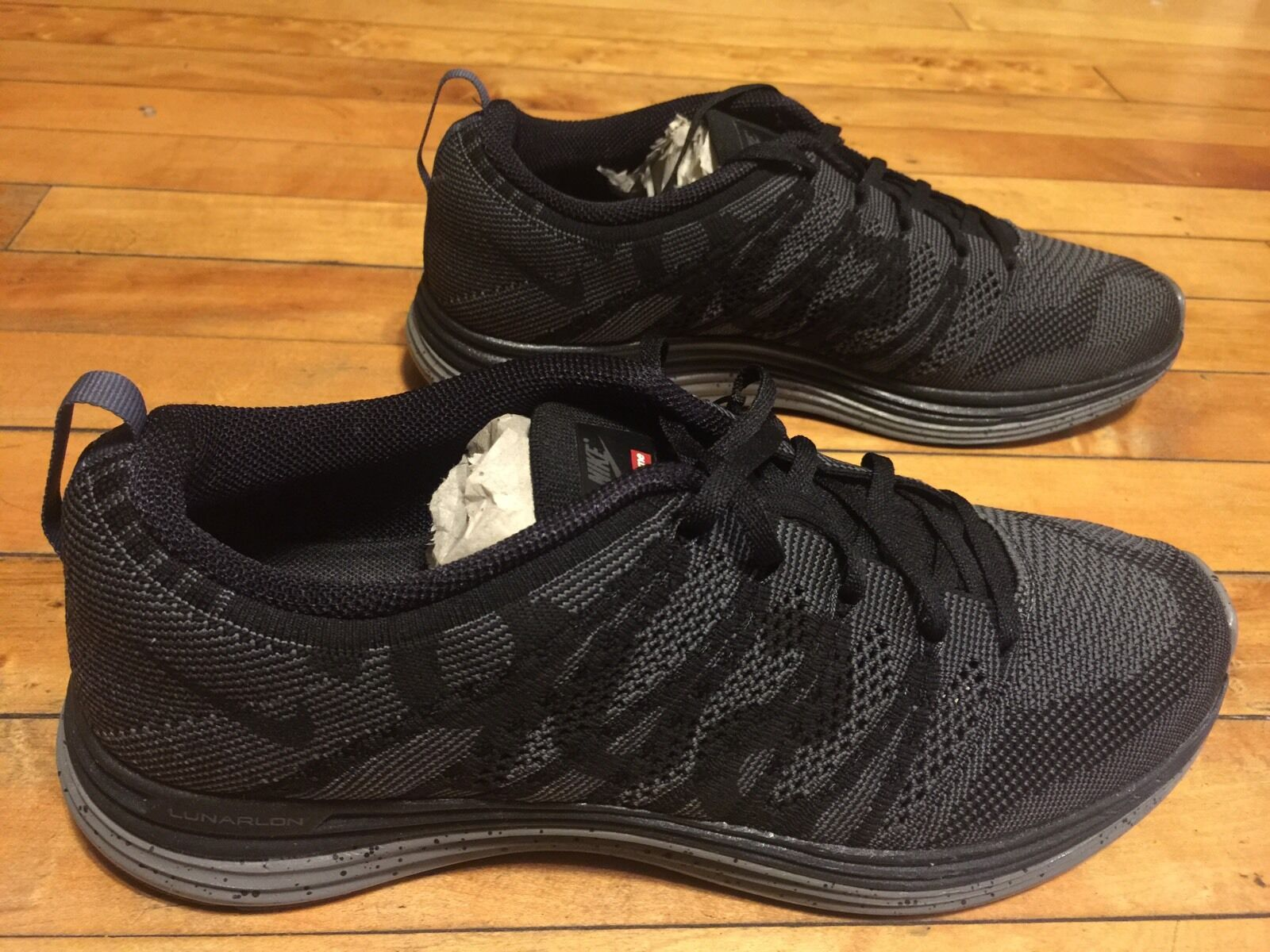 NIKE FLYKNIT LUNAR1 + SUPREME 623823-001 SIZE 9 SOLD OUT LMTD MULTI-COLOR Special limited time