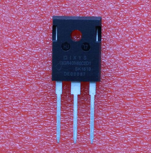 10 un Transistor bipolar de puerta aislada IXGR40N60C2D1 40N60C2D1 Transistor IXYS TO-247