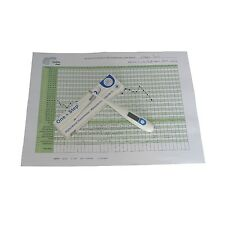 Digital Basal Ovulation Thermometer BBT Centigrade(Celsius) With Fertility Chart