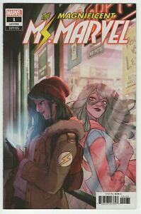 Magnificent-MS-MARVEL-1-RI-1-25-Incentive-Tarr-VARIANT-Marvel-Comics-High-Grade
