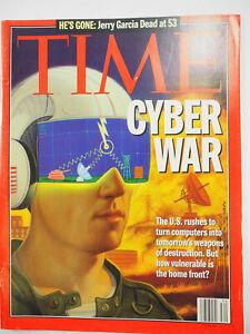 Time Magazine August 21, 1995 - Cyber War