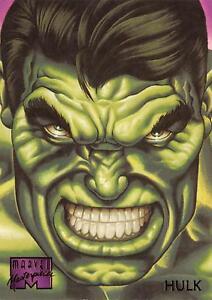 HULK-1995-Marvel-Masterpieces-Fleer-Base-Trading-Card-42