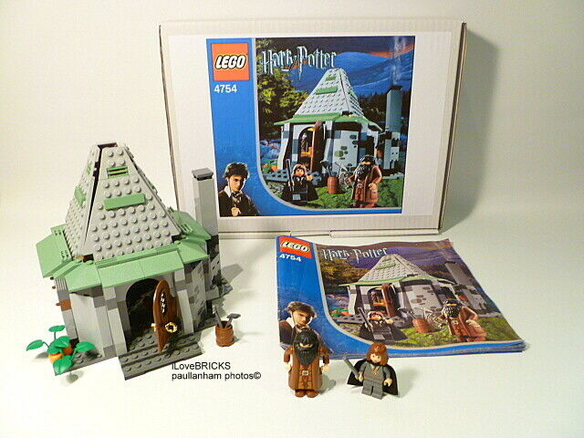 LEGO HARRY POTTER HAGRID'S HUT 4754 RARE HERMIONE 100% COMPLETE GUARANTEE