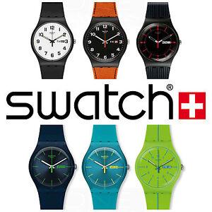 orologio uomo swatch swiss made new gent vari collezione