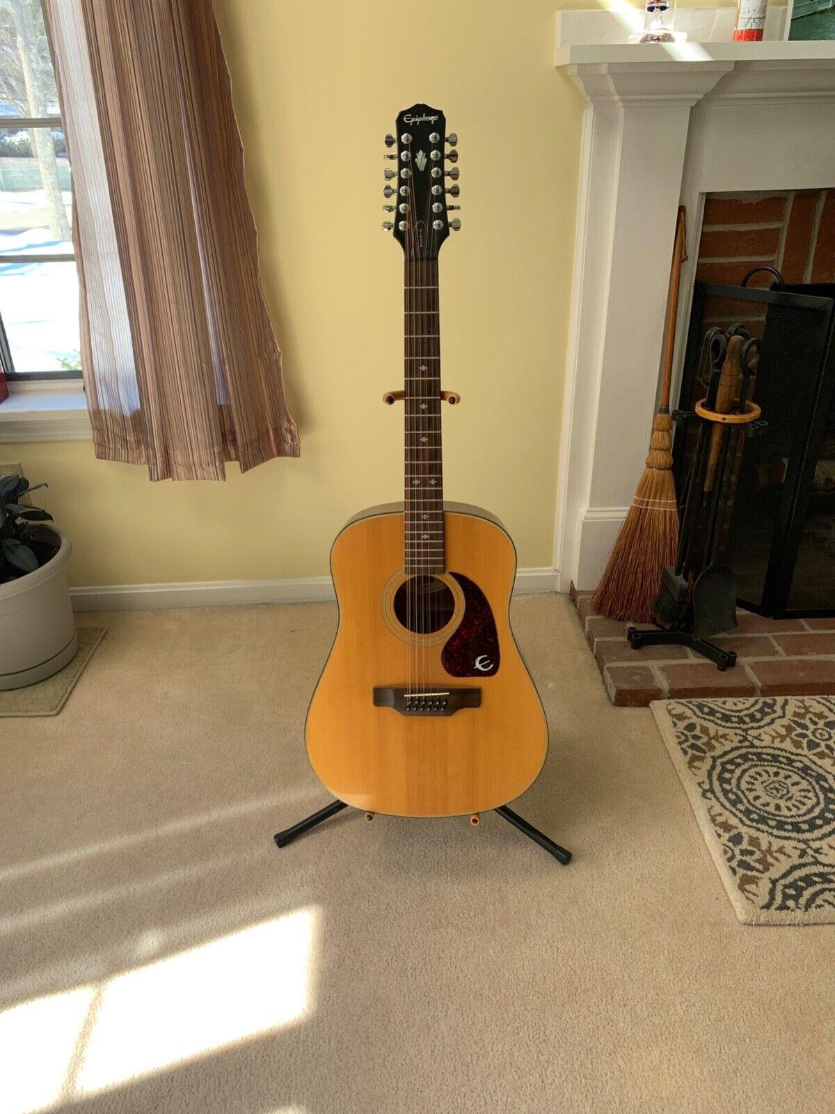 Epiphone 12 String Acoustic Guitar PR 350-12