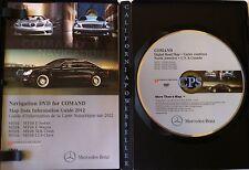 2012 Mercedes Benz Navigation Map DVD Update v11.0 E/ SLK/ CLS Class