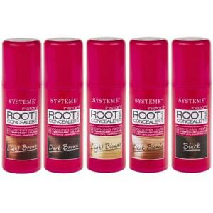 Instant Root Concealer Colour Spray Touch Up Hair Brown Blonde Brunette - 75ml