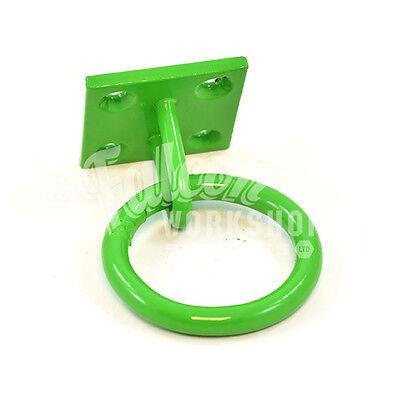 Anello Equestre Verde Per Targhe 50mm X 50mm Reti Di Fieno Scuderie Campo Rifugi- Acquista One Give One