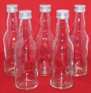 leere Glasflaschen 200 ml Likörflasche Schnapsflasche 0,2 liter Saft-flasche KRO