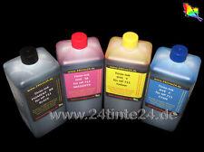 4x 1 L Tinte Ink HP 711 HP711 CZ133A CZ129A CZ132A CZ131A CZ130A T120 T520 Desi