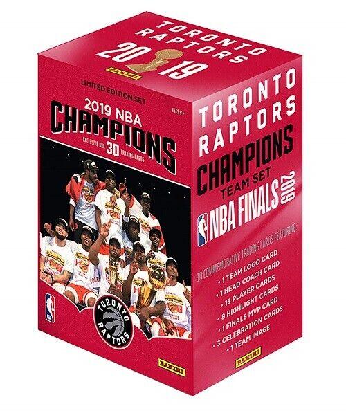 Panini Toronto Raptors 2019 NBA Finals Champions Panini 30 Card Team Set