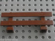 Barriere LEGO ferme RedBrown fence 6079 / set 7637 & 7684 FARM