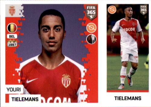 Sticker 136 a//b Panini FIFA365 2019 AS Monaco Youri Tielemans