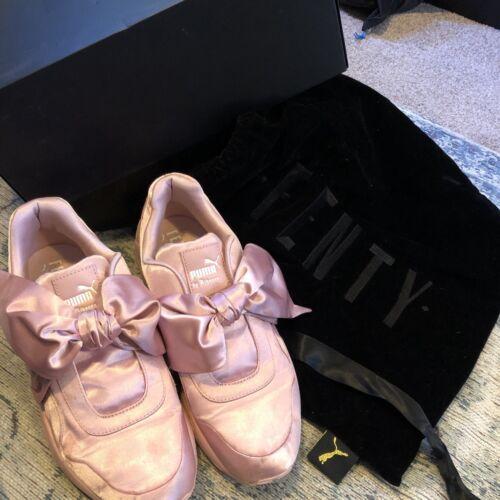 con Zapatillas 7 de bolsa deporte lazo polvo para Puma rosa tamaño Fenty el xT8Tf06Wn