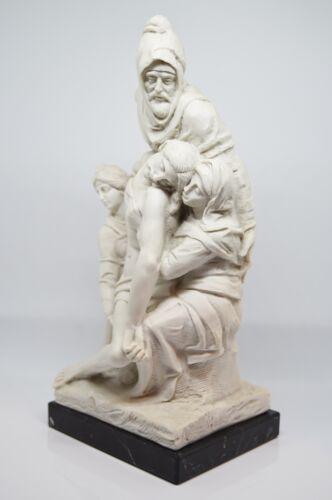 """cm 29 Made in Italy Michelangelo Statue /""""La Pietà Bandini o Fiorentina/"""""""