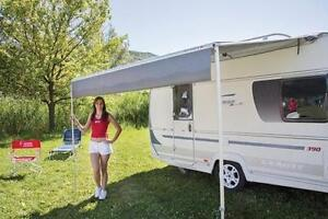 Image Is Loading 410 Fiamma Caravanstore Grey Roll Out Awning Canopy