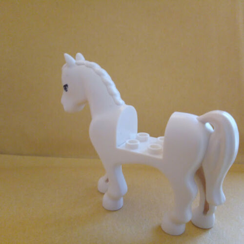 LEGO FRIENDS WHITE HORSE CUT OUT