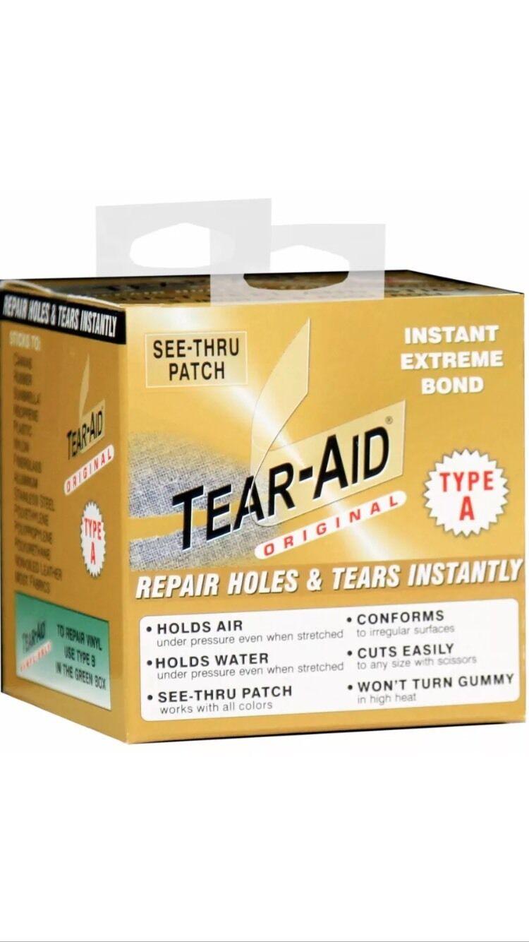 Tear-Aid Repair Tape ( A) 3 inch x 5 foot roll