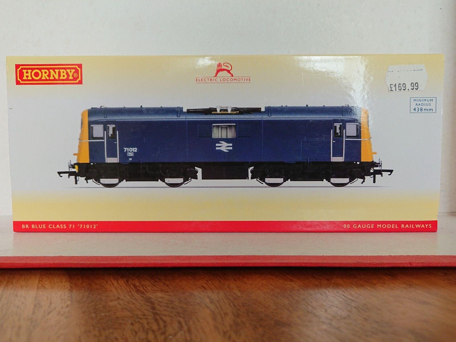 Hornby R3374 BR blu classe 71 n. 71012 DCC Ready nuovo