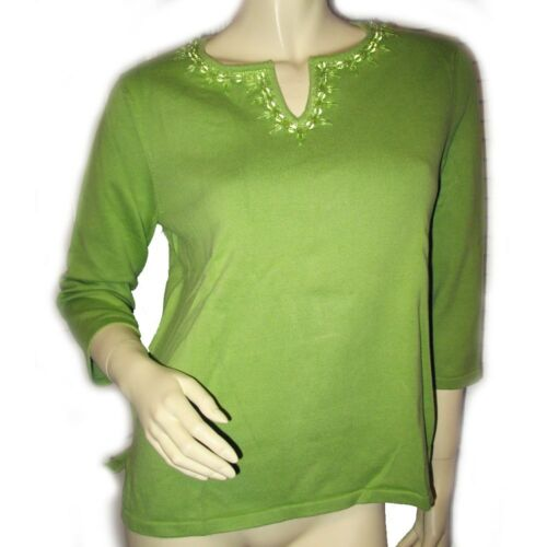 JONES NEW YORK Womens Sweater Top Tee Blouse 3/4 S