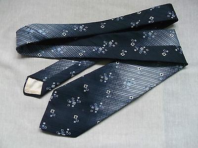 Razionale Vintage Cravatta Dunn & Co Da Uomo Cravatta Moda Retrò Blu Scuro-mostra Il Titolo Originale