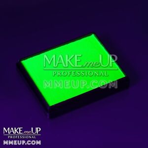 Image Is Loading Neon Green Fluorescent 50g Uv Face Paint Water