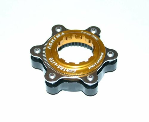 Centerlock verschlussring Adaptateur Disc incl Ashima 6 trous or Alu ac02