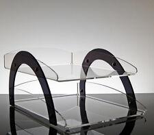 Dispenser porta memo e foglietti per scrivania design moderno in plexiglass trasparente Pan