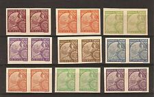 TIMOR 1934 PROOFS TIPO PADROES, S.GABRIEL Sc 202/22, AF #206/26 COMPLETE SET MH