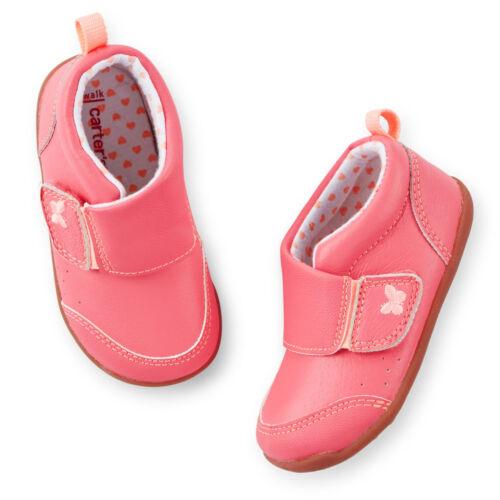 Carter/'s Baby Girls CHRISTY Every Step Stage 2 Stand Shoe Heel Sensory Pods NIB