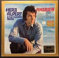 Herb Alpert & The Tijuana Brass - America (Gold Serie) VINYL LP A&M Records