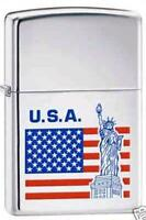 Zippo 3593 Liberty Stars And Stripes Lighter