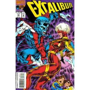 Excalibur (1988 series) #73 in Near Mint condition. Marvel comics [*lq]
