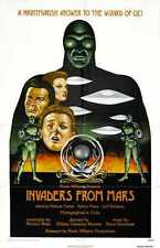 Invaders From Mars Poster 06 A2 Box Canvas Print