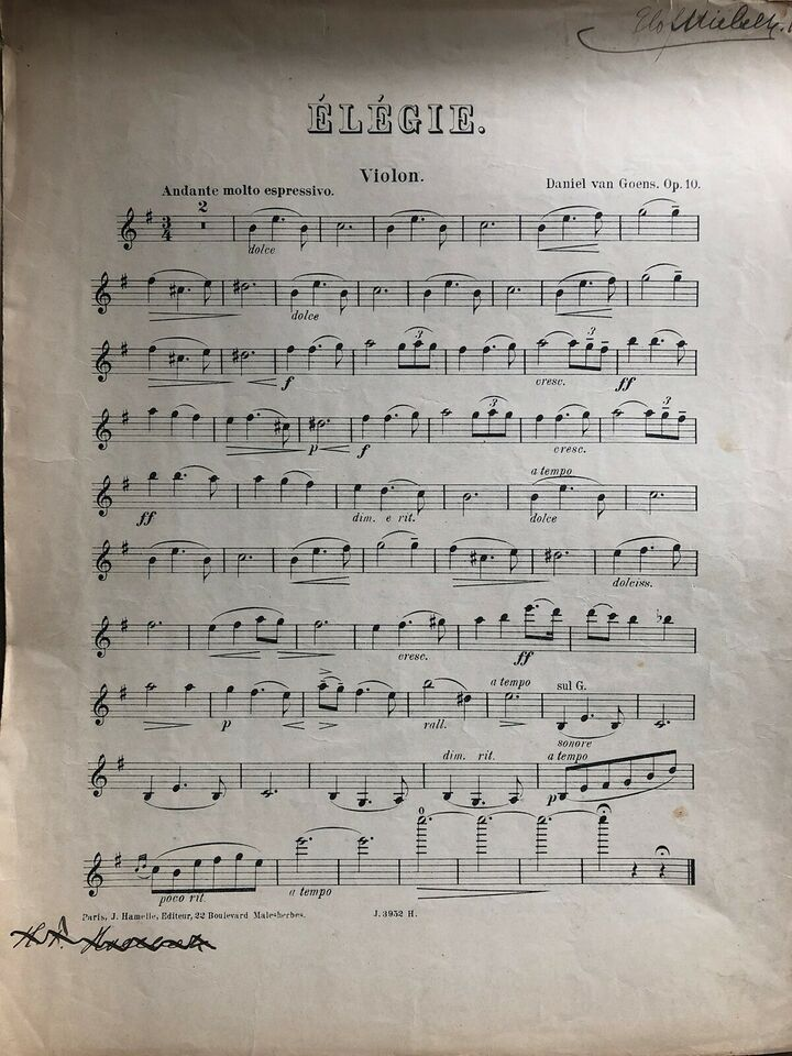 Noder klassisk musik, Bach, Schubert etc