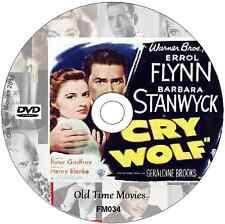 Cry Wolf - Errol Flynn Barbara Stanwyck Mystery Thriller Film on DVD 1947