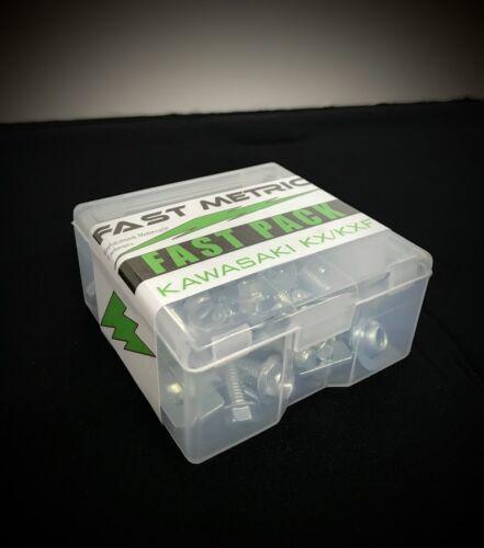 KAWASAKI FAST-PACK for KX60 KX65 KX80 KX85 KX125 KX250 KX500 /&Plastic container