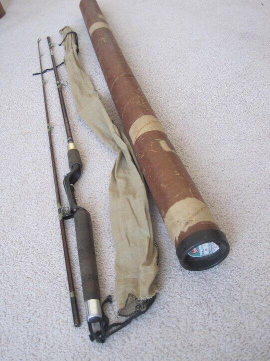Vintage Heddon Lifetime Pal piece 7'0 Fishing Rod Pole