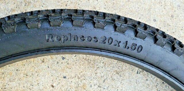 """Amerityre MOUNTAIN BIKE 20/"""" x plat 1.50/"""" libre Vélo De Montagne Pneu Sans Chambre à air BMX"""