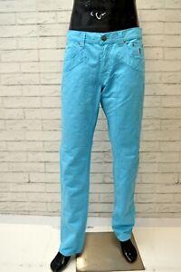 Pantalone-Uomo-JECKERSON-Taglia-Size-46-Jeans-Pants-Man-Cotone-Azzurro-Chiaro