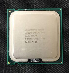 Intel ~ Core-2-Duo E8400 3.0GHz 6MB L2 Cache 1333MHz FSB LGA 775 CPU SLB9J