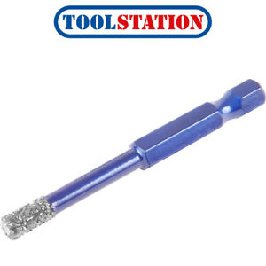 Mexco TDXCEL Dry Diamond Vacuum Brazed Porcelain Ceramic Granite Tile Drill Bits