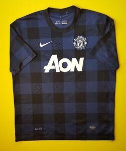 e6c2e4cdc 4.8 5 Manchester United jersey XL 2013 2014 away shirt 532838-411 ...