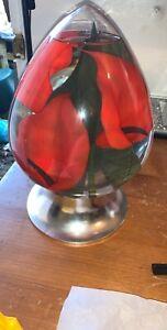 Large-calla-lily-flower-Teardrop-shape-Aquarium-Art-Glass-Globe