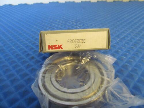 NOS NSK Bearing 6206 ZC3E
