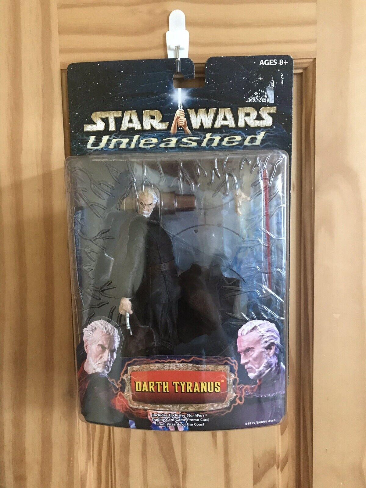 STAR Wars scatenato Darth tyranus Conte Dooku Figura Nuovo