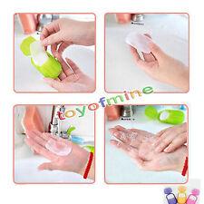 Mini Travel Washing Hand Bath Travel Scented Slide Sheets Foaming Box Paper Soap
